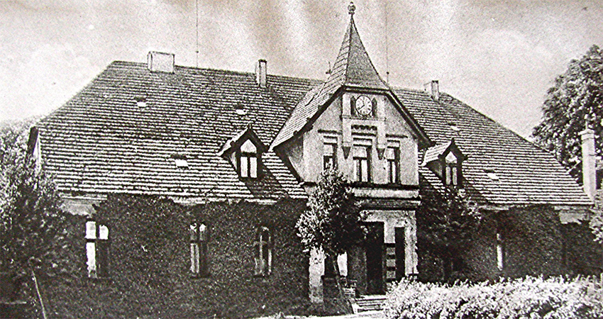 Das Gutshaus um 1898