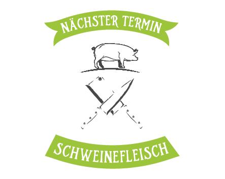 Schweinefleischverkauf September 2019